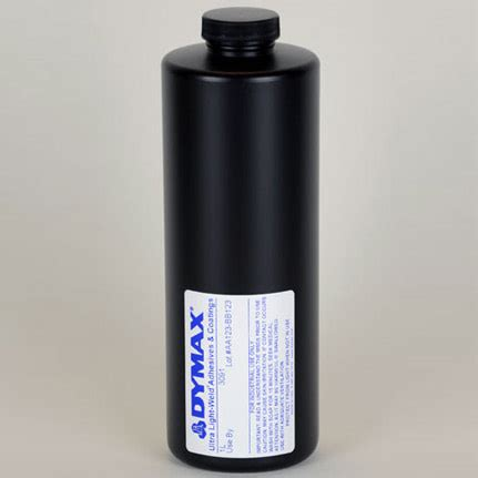 uv curing l dymax ultra light weld 174 3091 uv curing adhesive 1 l bottle