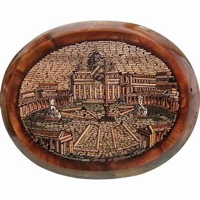 Roman Mosaic Micro Antique 1840 Lane Chateau