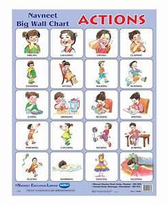 Buy Navneet Actions Big Wall Chart Online In India