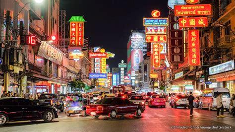 bangkoks chinatown map map  chinatown bangkok