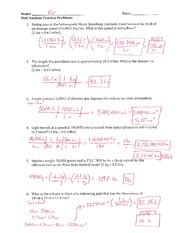 thermochemistry problems worksheet two key key