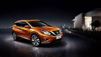 Nissan Murano Orange Crossover 4k Wallpapers Hybrid
