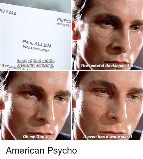 American Psycho Memes - american psycho meme pictures to pin on pinterest pinsdaddy