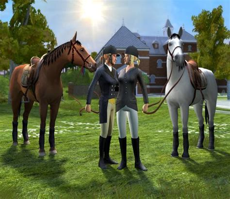 riding academy  horse game wii nds pc downloadhorse games