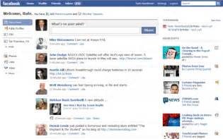 New Facebook Homepage