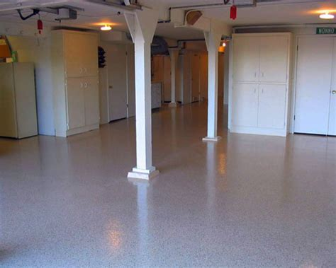 How To Prep, Paint, and Finish Your Cement Basement Floor
