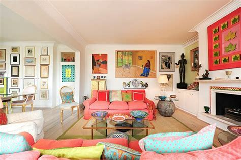 colourful living room modern colorful living room interior design