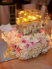 candle centerpiece ideas 16 Stunning Floating Wedding Centerpiece Ideas