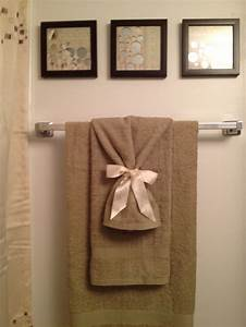 96 best images about decorative towels on pinterest for How to tie towels in bathroom