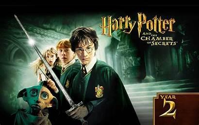 Potter Chamber Harry Secrets Wallpapers 2002 Film