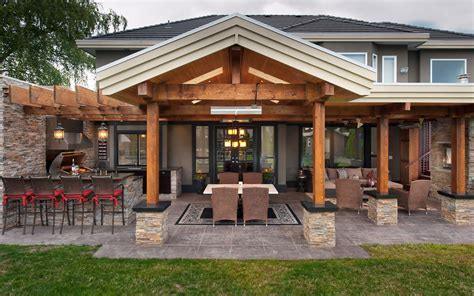 vancouver outdoor kitchens  revision custom home renovations
