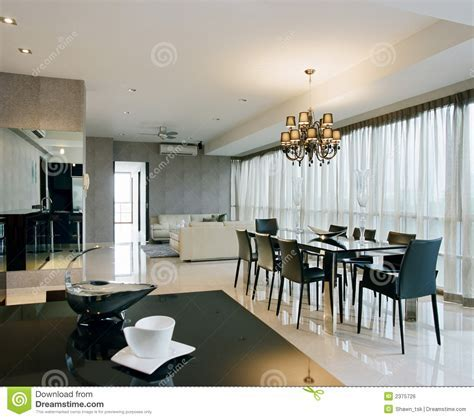 Interior Design   Dining Area Stock Photo   Image: 2375726
