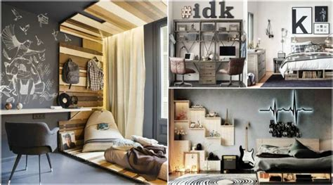 creative teenage boys room designs  love