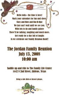 African American Family Reunion Invitations