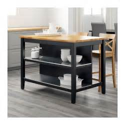 kitchen island stools ikea stenstorp kitchen island black brown oak 126x79 cm ikea