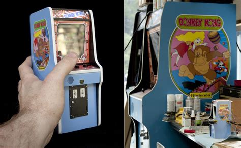 smallest donkey kong arcade machine   world