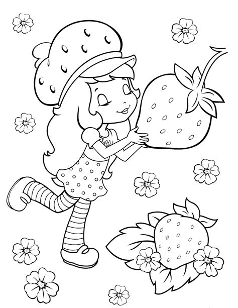 Strawberry Shortcake 27 Coloringcolorcom