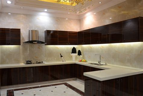 interiors of kitchen modern minimalist villa kitchen interior design 3d house