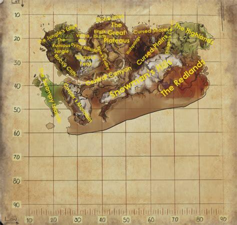 ark maps nlbe ark survival ragnarok