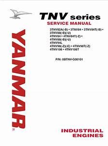 Yanmar Industrial Engines Tnv Series Service Manual Pdf