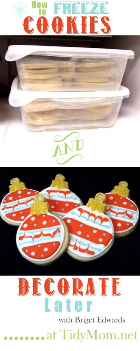 Lined up in a row on a platter, these cute treats are sure to get your guests in the holiday spirit. How to Freeze Cookies