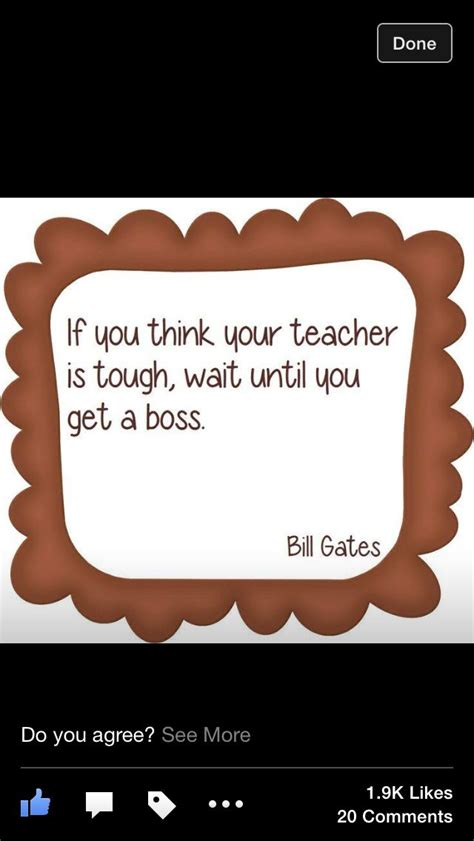 Bill Gates quotation | Teaching quotes, Classroom quotes ...
