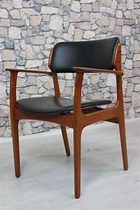 Stuhl Danish Design : 60er teak erik buck stuhl armlehnstuhl danish design gr nberger shop ~ Frokenaadalensverden.com Haus und Dekorationen