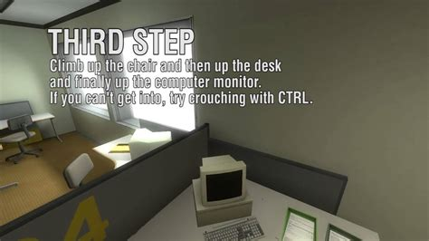 stanley parable       window