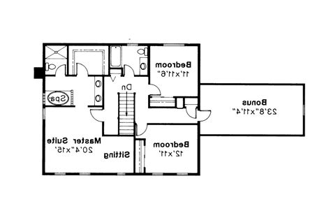 Colonial Floor Plans by Colonial House Plans Westport 10 155 Associated Designs