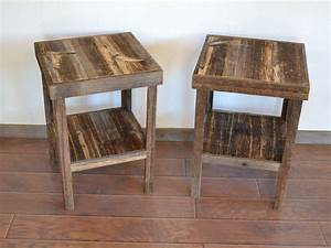Nightstands Soulful Reclaimed Wood Nightstands Decoration