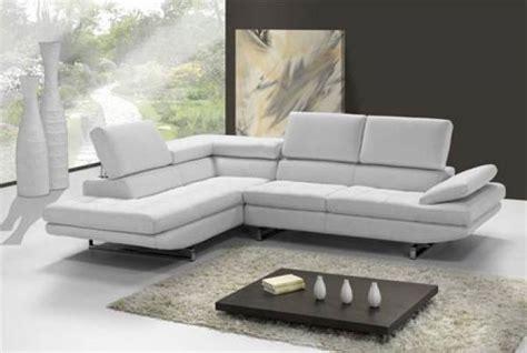 canap d angle cuir blanc design photos canapé d 39 angle cuir blanc design