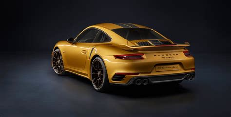 new porsche 911 porsche 911 turbo s exclusive series is the most powerful