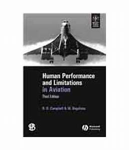Human Performance & Limitations In Aviation 3/Ed: Buy ...