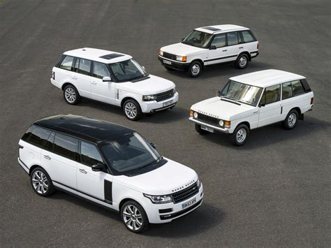 range rover generations meet   models