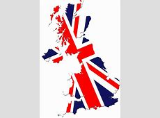 Flag of England Britain over map – Travel Around The