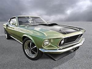 1969 Mach 1 Mustang Photograph by Gill Billington