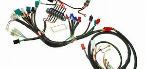Diagram  Scooter Electrical Wire Harness 150cc 125cc