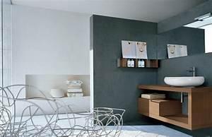 Wandfarbe Für Badezimmer : farbgestaltung badezimmer wandfarbe grau freshouse ~ Sanjose-hotels-ca.com Haus und Dekorationen