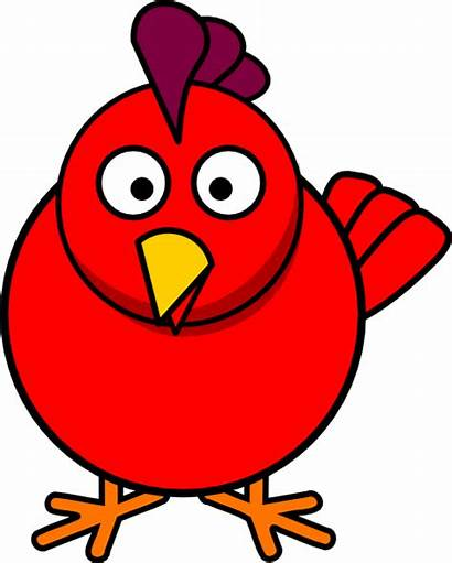 Chicken Chick Clipart Clip Clker Cliparts Pink
