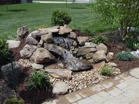 how much are water fountains pondless water features pondless waterfall water features pinterest water features