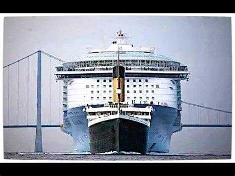 titanic compared to modern cruise ships buzzpls