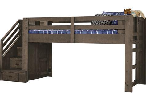 bunk beds with desk montana espresso jr loft bed bunk loft beds