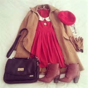 Cute Winter Outfits with Dresses