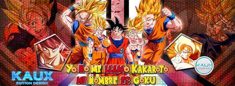 Portada Para Animeid By Kauxofdeath Portada Para De Goku By Kauxofdeath On Deviantart