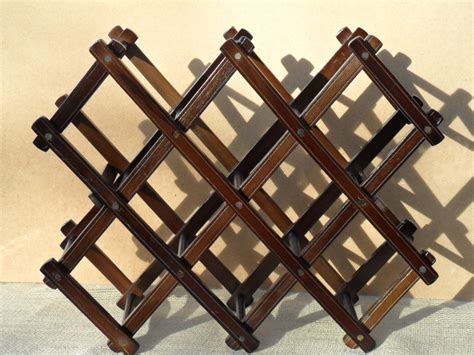 wooden wine rack vintage wooden wine rack solid sturdy by