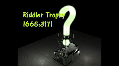 batman arkham knight riddler trophy  youtube