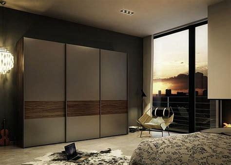 chambre a coucher moderne avec dressing la porte de dressing coulissante garantit un style moderne
