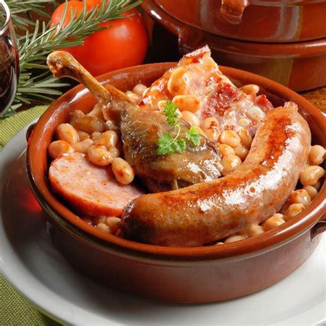 thym cuisine recette cassoulet de castelnaudary