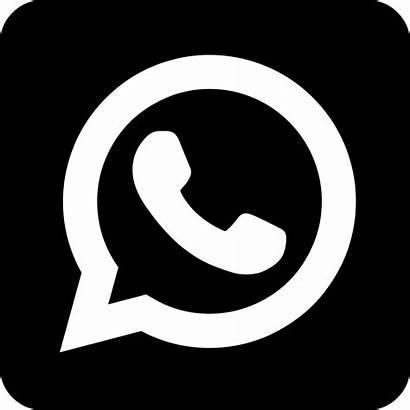 Whatsapp Icon Transparent Preto Svg Imagens Transparente
