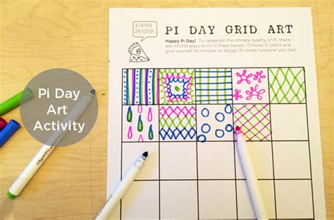 Pi Day Art Project